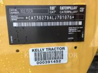 CATERPILLAR TRACK EXCAVATORS 302.7DCR equipment  photo 14