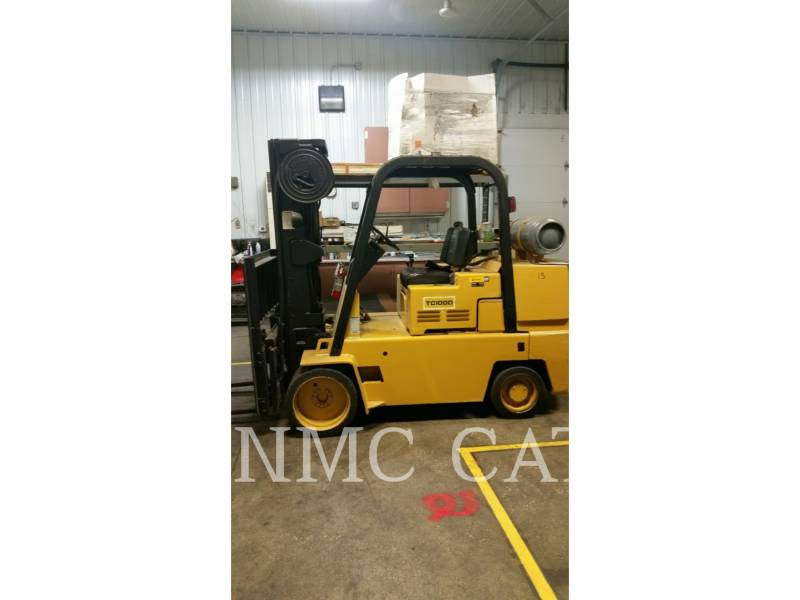 CATERPILLAR LIFT TRUCKS FORKLIFTS TC100D_MC equipment  photo 1