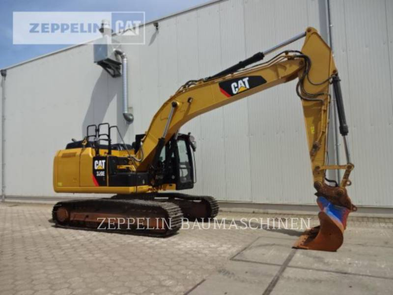 Caterpillar EXCAVATOARE PE ŞENILE 320EL equipment  photo 8