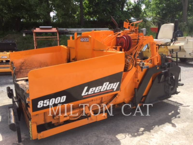 LEE-BOY ASPHALT PAVERS 8500 equipment  photo 1