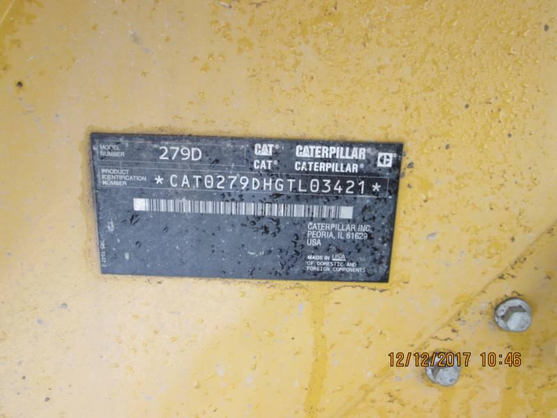 CATERPILLAR CARGADORES MULTITERRENO 279D equipment  photo 9