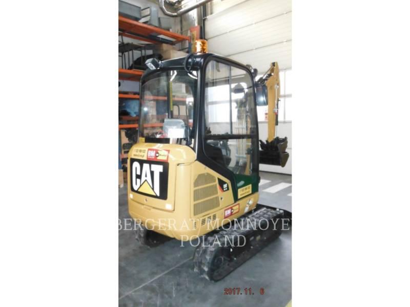 CATERPILLAR TRACK EXCAVATORS 301.7 D equipment  photo 3