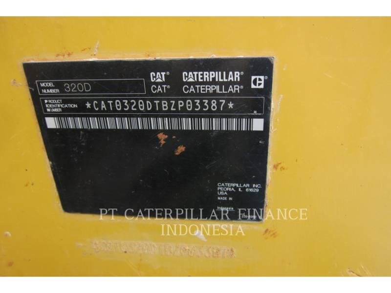 CATERPILLAR KETTEN-HYDRAULIKBAGGER 320D equipment  photo 5