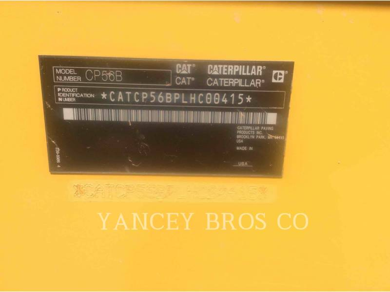 CATERPILLAR EINZELVIBRATIONSWALZE, BANDAGE CP56B equipment  photo 11