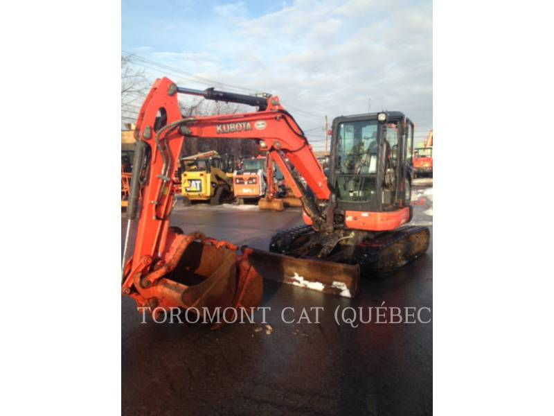 KUBOTA CORPORATION EXCAVADORAS DE CADENAS U55 equipment  photo 1
