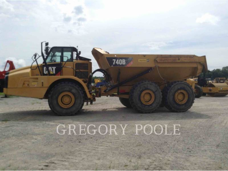 CATERPILLAR CAMIONES ARTICULADOS 740 B equipment  photo 8