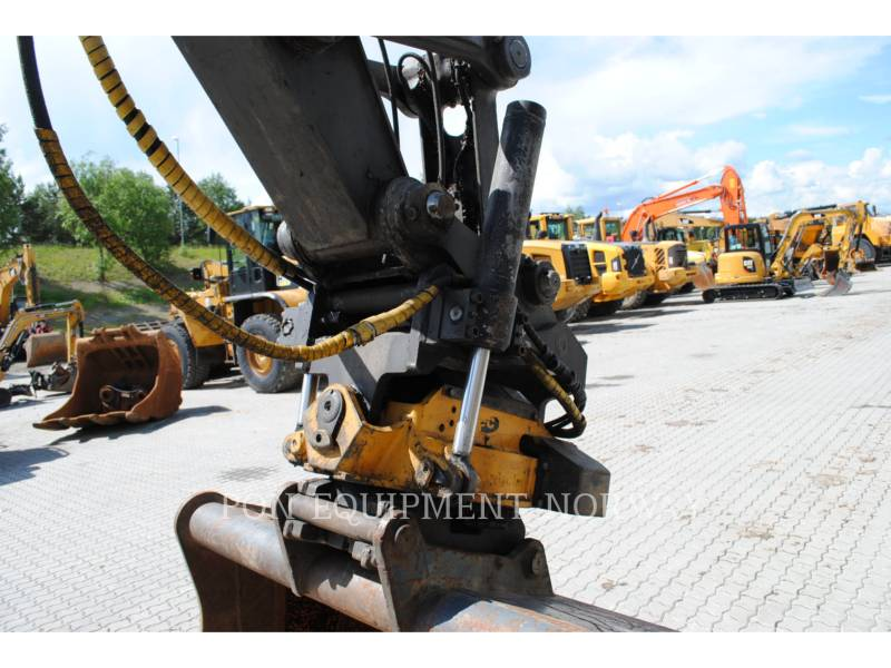 VOLVO CONSTRUCTION EQUIP BRASIL WHEEL EXCAVATORS EW 160 C equipment  photo 10