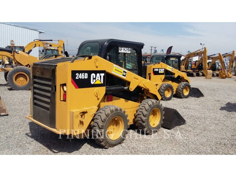 CATERPILLAR スキッド・ステア・ローダ 246DLRC equipment  photo 4