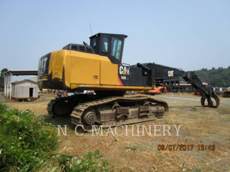 CATERPILLAR MACHINE FORESTIERE 568 equipment  photo 1