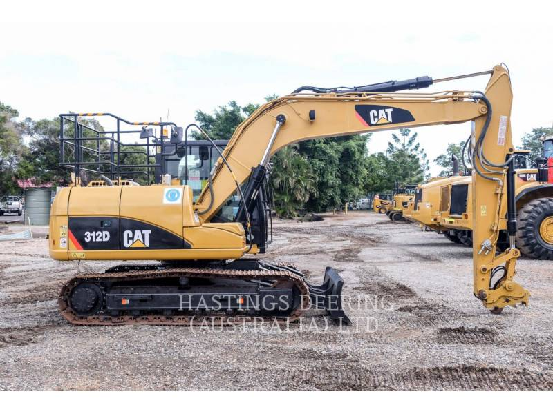 CATERPILLAR TRACK EXCAVATORS 312D equipment  photo 5