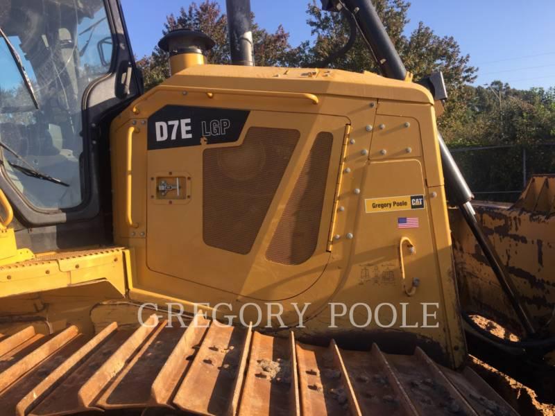 CATERPILLAR TRACK TYPE TRACTORS D7E LGP equipment  photo 8