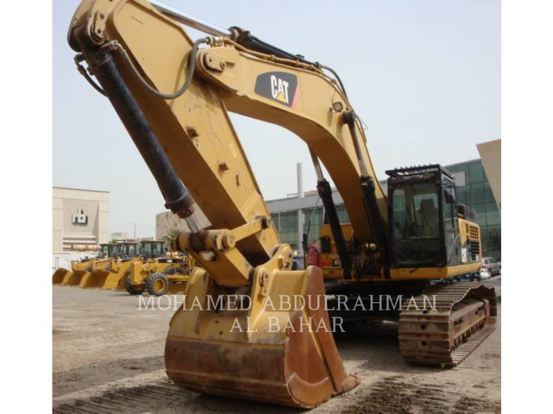 CATERPILLAR KETTEN-HYDRAULIKBAGGER 345 D equipment  photo 1