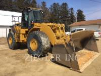 Equipment photo CATERPILLAR 980G CHARGEURS SUR PNEUS MINES 1