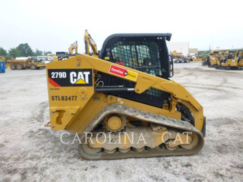 CATERPILLAR TRACK LOADERS 279D CB equipment  photo 1