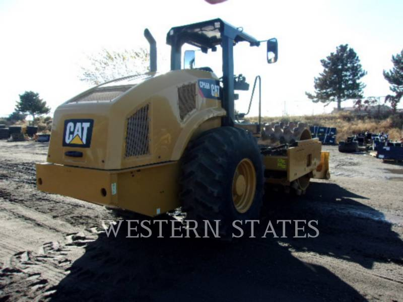 CATERPILLAR VIBRATORY SINGLE DRUM SMOOTH CP56B equipment  photo 3