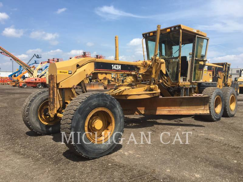 CATERPILLAR MOTOR GRADERS 143H equipment  photo 1