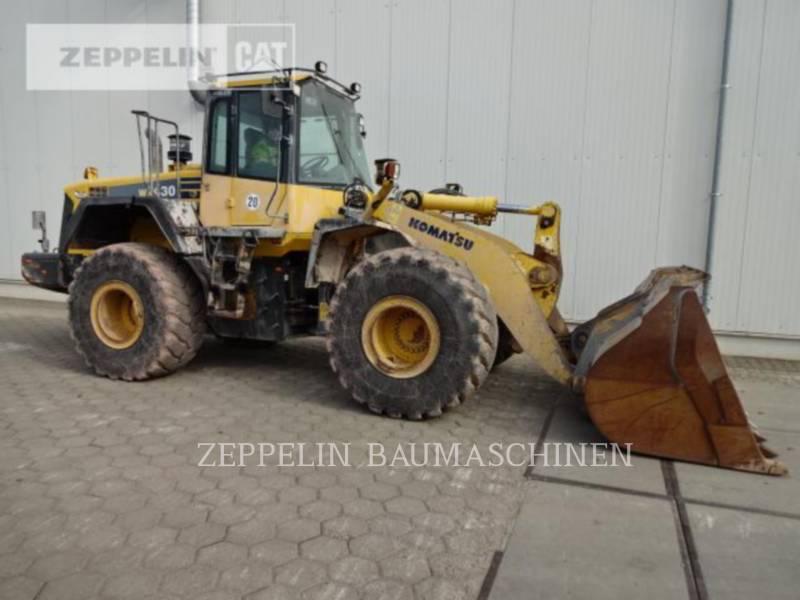 KOMATSU LTD. ŁADOWARKI KOŁOWE/ZINTEGROWANE NOŚNIKI NARZĘDZI WA430 equipment  photo 8
