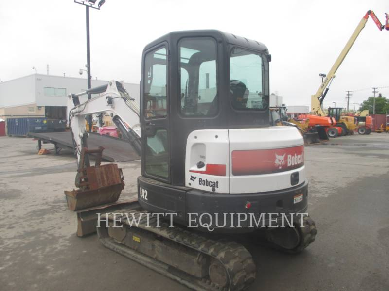 BOBCAT TRACK EXCAVATORS E42 equipment  photo 4