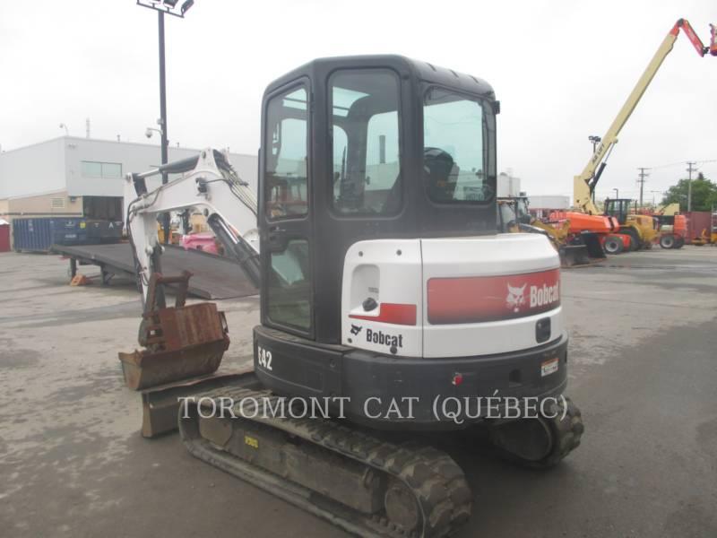 BOBCAT TRACK EXCAVATORS E42 equipment  photo 4