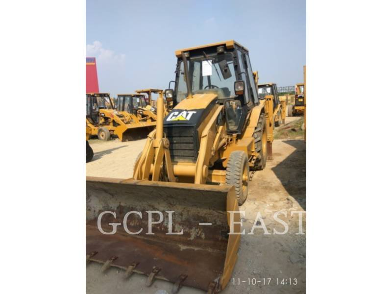 CATERPILLAR BACKHOE LOADERS 424 B equipment  photo 2