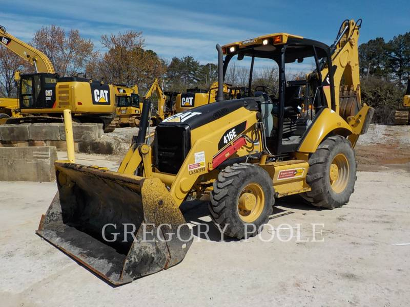 CATERPILLAR バックホーローダ 416E equipment  photo 1