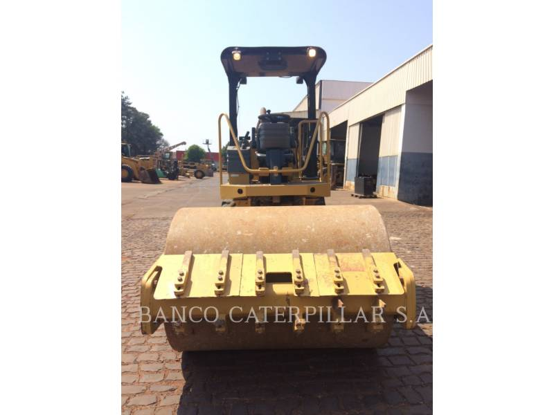 CATERPILLAR EINZELVIBRATIONSWALZE, GLATTBANDAGE CS-423E equipment  photo 6