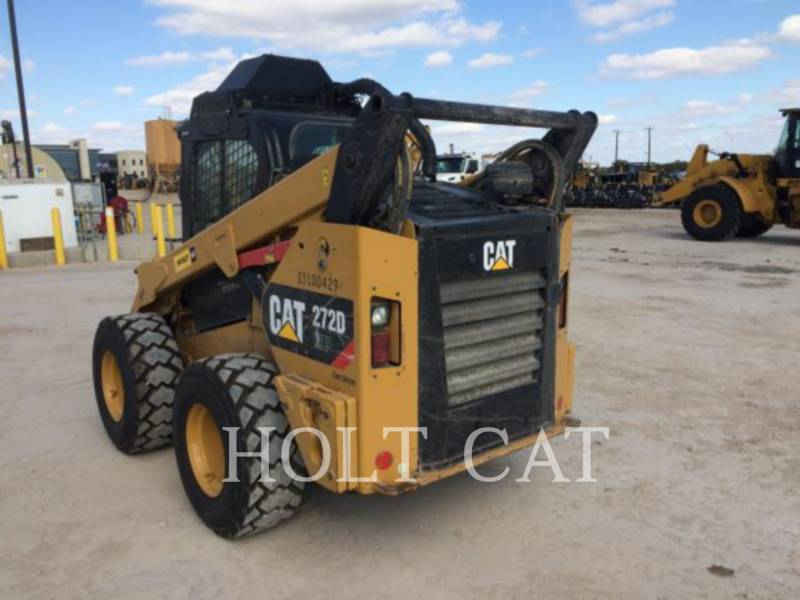 CATERPILLAR SKID STEER LOADERS 272D XHP equipment  photo 4