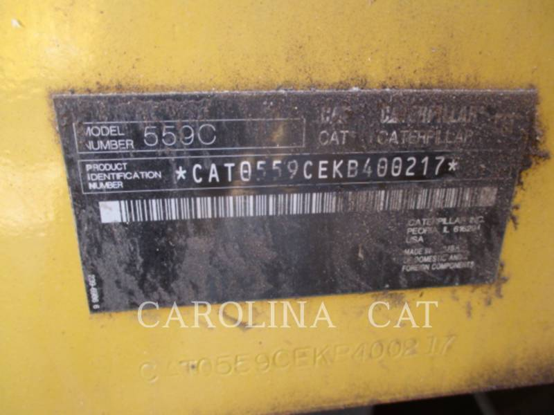 CATERPILLAR ARTICULATION POUR CHARGEUR 559C equipment  photo 13