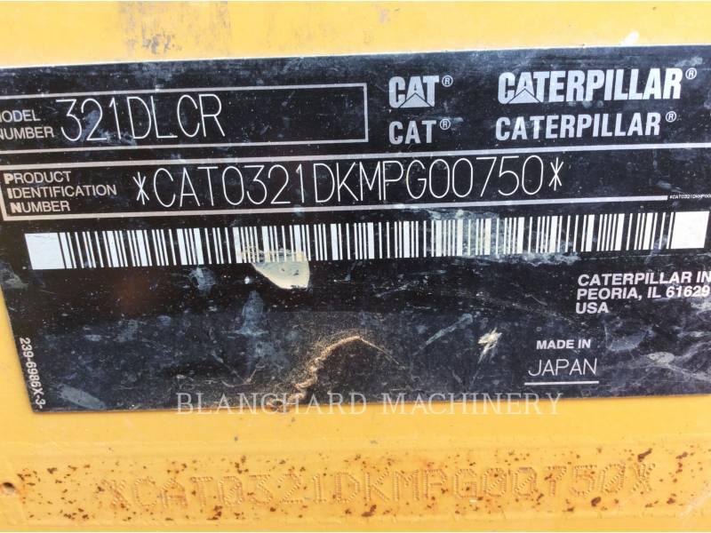 CATERPILLAR EXCAVADORAS DE CADENAS 321D LCR equipment  photo 6