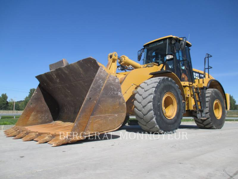 CATERPILLAR CARGADORES DE RUEDAS 972H equipment  photo 2