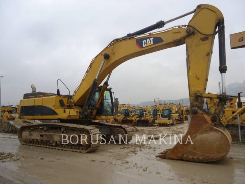 CATERPILLAR PELLE MINIERE EN BUTTE 349D equipment  photo 4