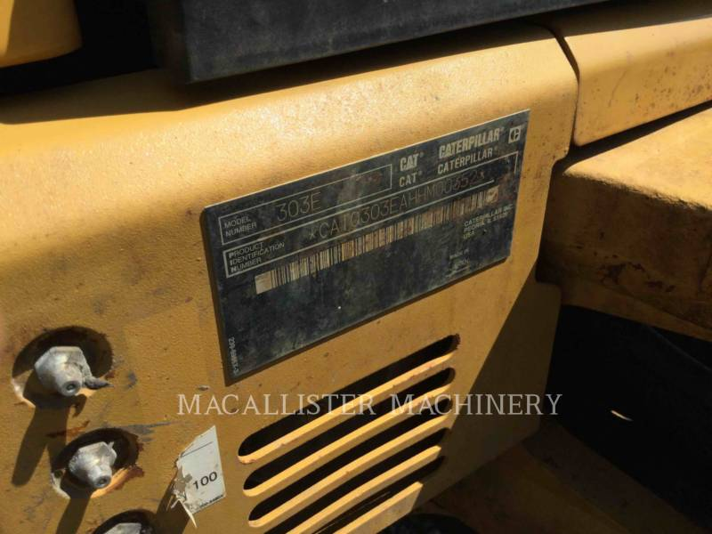 CATERPILLAR KETTEN-HYDRAULIKBAGGER 303ECR equipment  photo 24