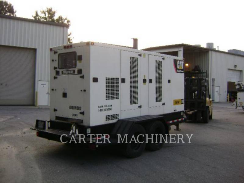 CATERPILLAR PORTABLE GENERATOR SETS XQ300 equipment  photo 3
