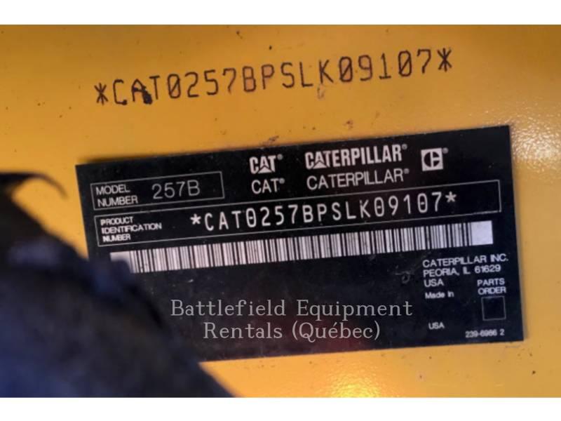 CATERPILLAR CARREGADEIRAS TODO TERRENO 257B2 equipment  photo 11