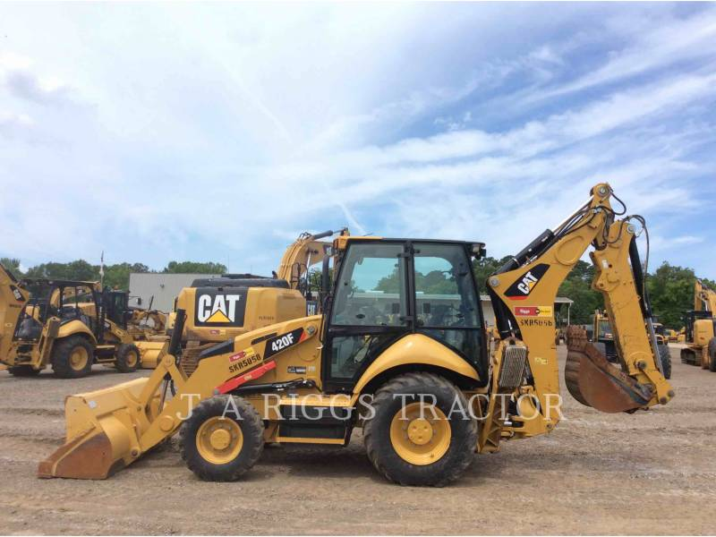 CATERPILLAR BACKHOE LOADERS 420F 4AE equipment  photo 7