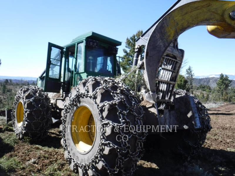 JOHN DEERE MAŞINĂ FORESTIERĂ 848H equipment  photo 2