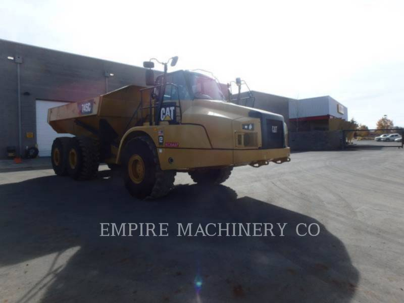 CATERPILLAR 铰接式卡车 745C equipment  photo 1
