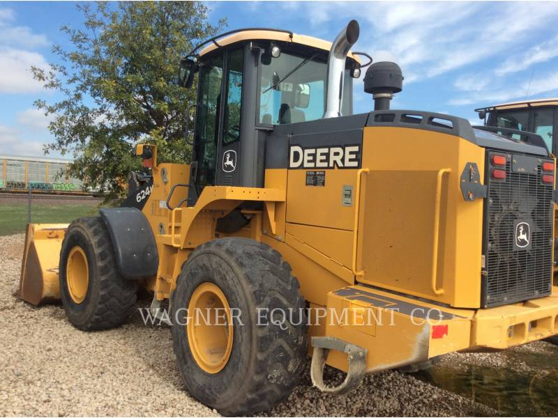 DEERE & CO. RADLADER/INDUSTRIE-RADLADER 624K equipment  photo 2