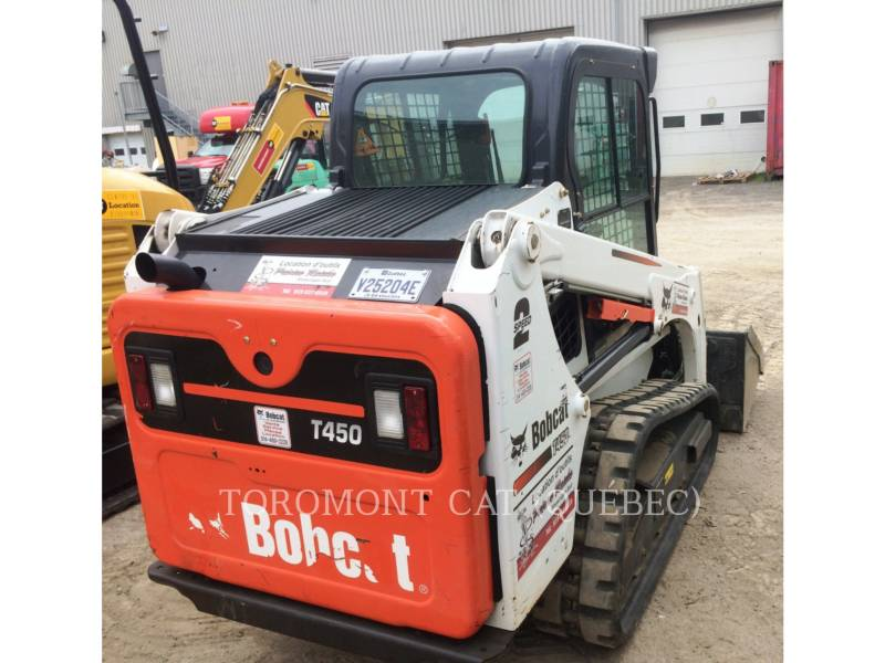BOBCAT SKID STEER LOADERS T450 equipment  photo 3
