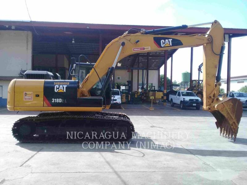 CATERPILLAR TRACK EXCAVATORS 318D2L equipment  photo 2