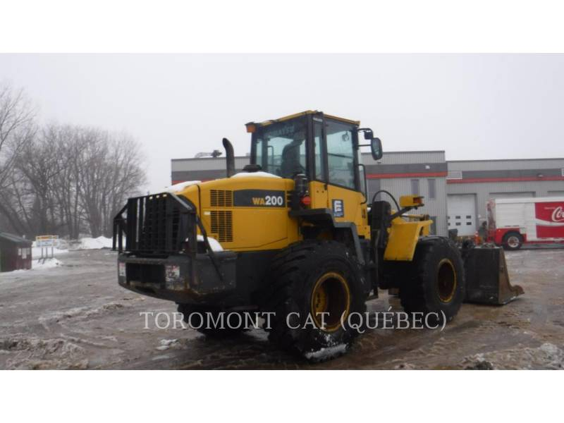 KOMATSU WHEEL LOADERS/INTEGRATED TOOLCARRIERS WA200 equipment  photo 4
