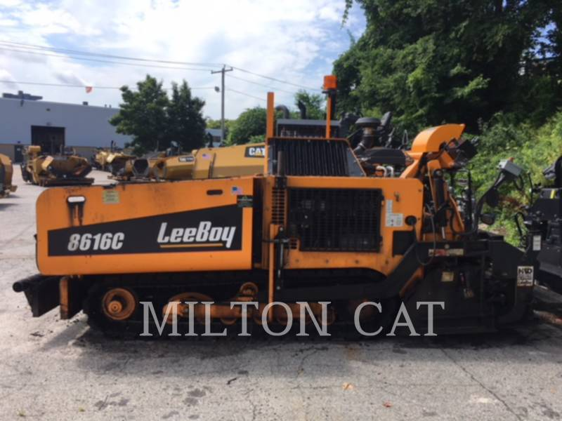 LEE-BOY ASPHALT PAVERS 8616B equipment  photo 4