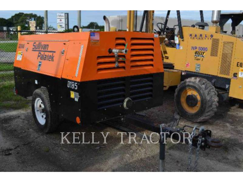 SULLIVAN AIR COMPRESSOR D185P JD equipment  photo 1