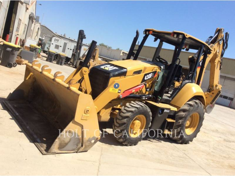 CATERPILLAR CHARGEUSES-PELLETEUSES 430F2 equipment  photo 1