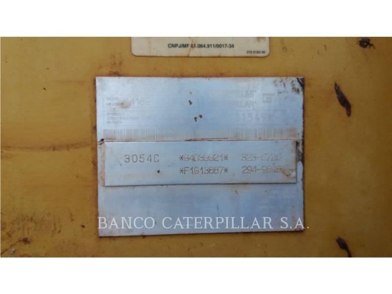 CATERPILLAR BACKHOE LOADERS 416EST equipment  photo 5