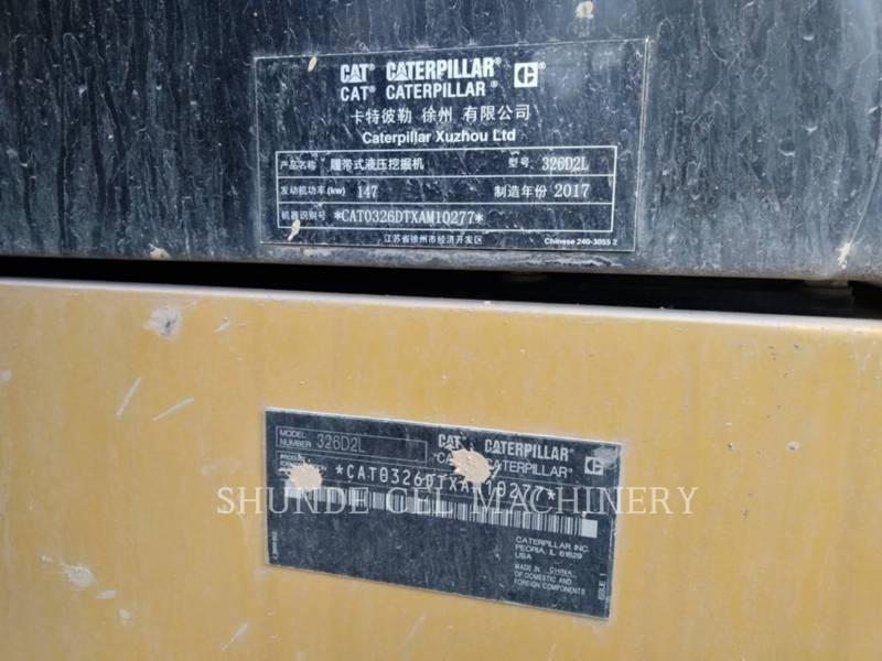 CATERPILLAR KETTEN-HYDRAULIKBAGGER 326D2L equipment  photo 2