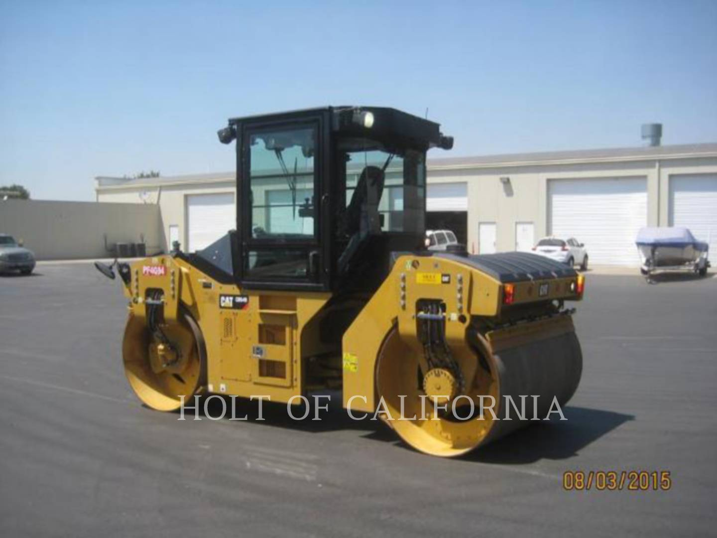 Detail photo of 2014 Caterpillar CB54B from Construction Equipment Guide