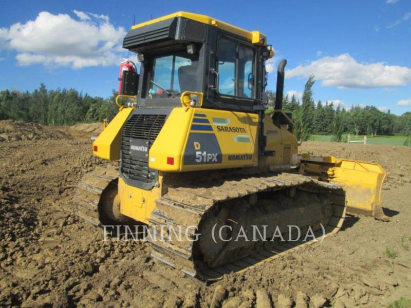 KOMATSU TRACK TYPE TRACTORS D51PX-22 equipment  photo 5