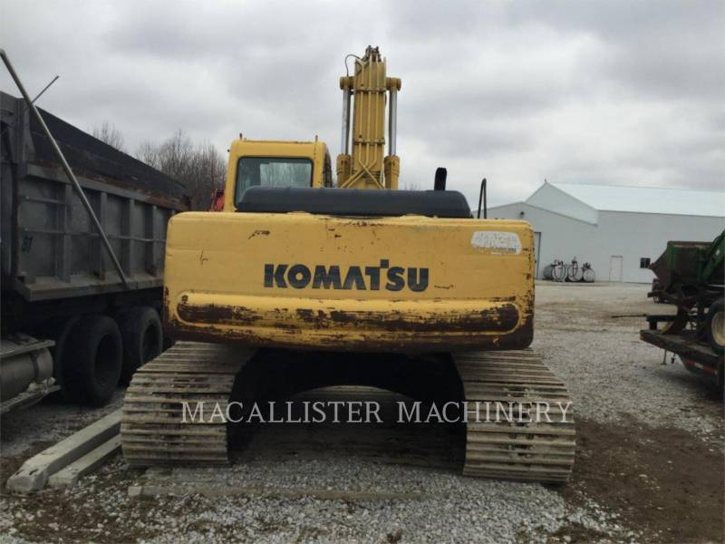 KOMATSU PELLES SUR CHAINES PC220LC equipment  photo 7