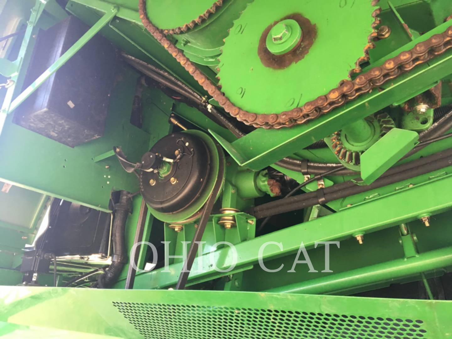 Detail photo of 2003 John Deere 9650STS from Construction Equipment Guide